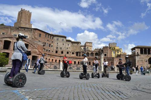 segway tour with skip the line colosseum tour