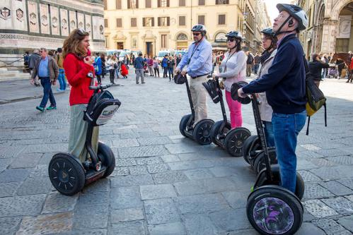 Florence Segway tour with touristic guide